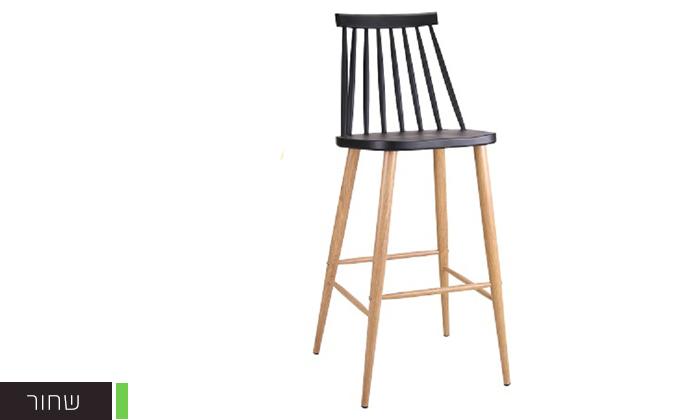 5 כיסא בר עם משענת גב גבוהה