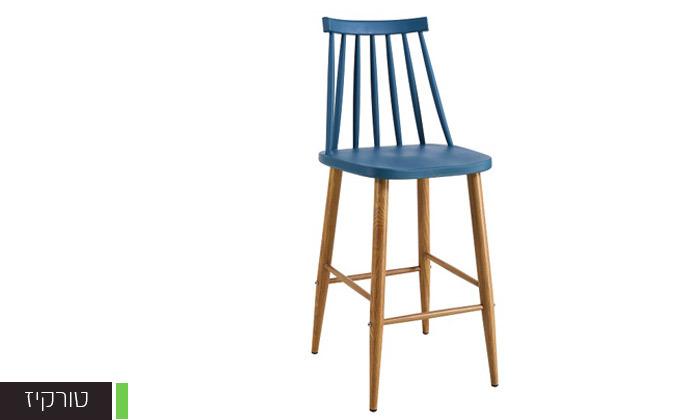 3 כיסא בר עם משענת גב גבוהה