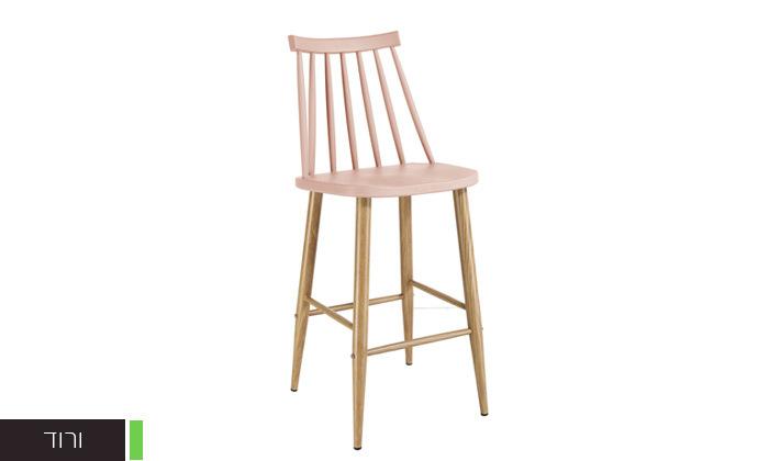 7 כיסא בר עם משענת גב גבוהה