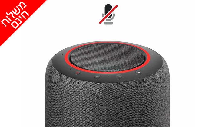4 רמקול חכם Echo Studio ועוזרת קולית Alexa - משלוח חינם