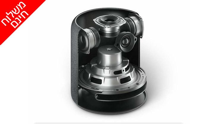 3 רמקול חכם Echo Studio ועוזרת קולית Alexa - משלוח חינם