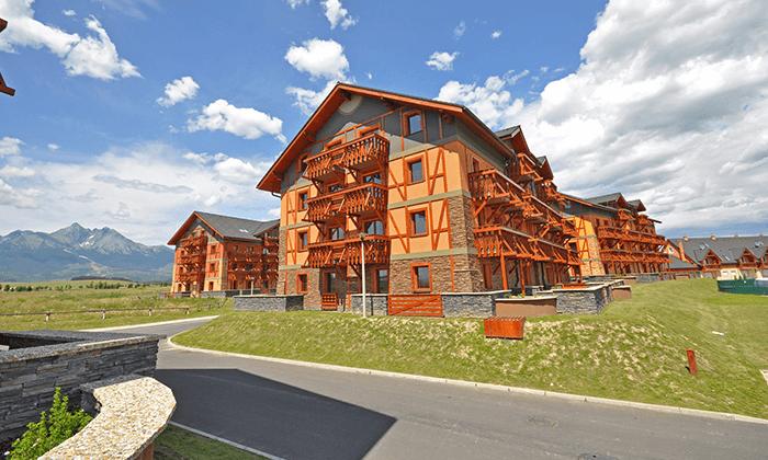 4 יולי-אוגוסט למשפחות בהרי הטטרה - מלון עם פארק מתנפחים במים