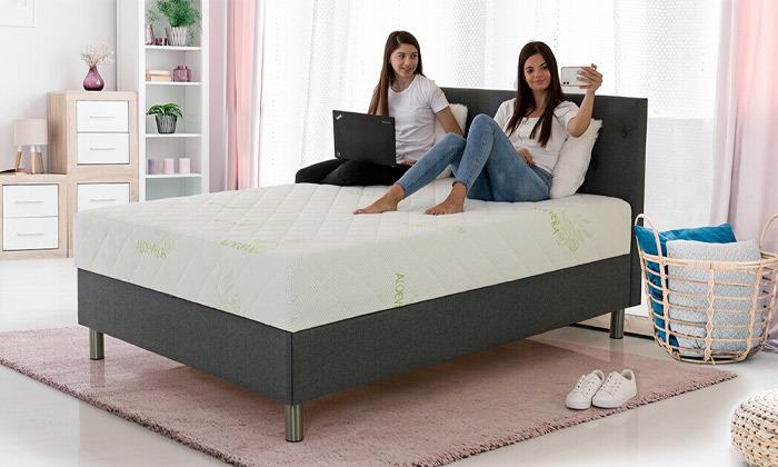 11 שמרת הזורע: מיטה זוגית עם מזרן וארגז מצעים