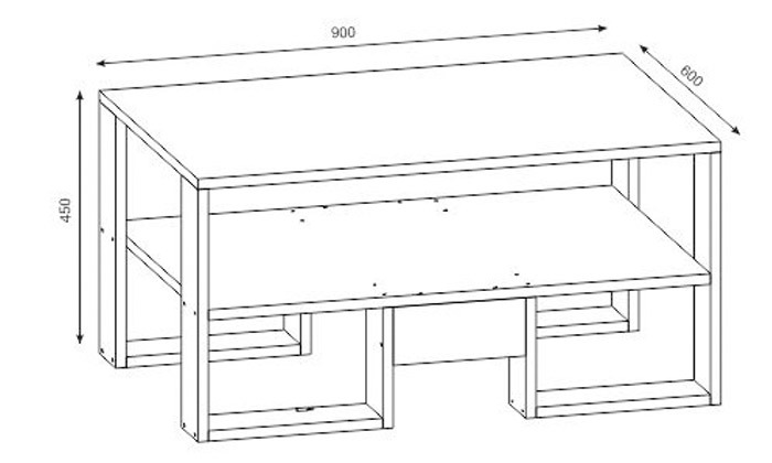 3 שולחן קפה