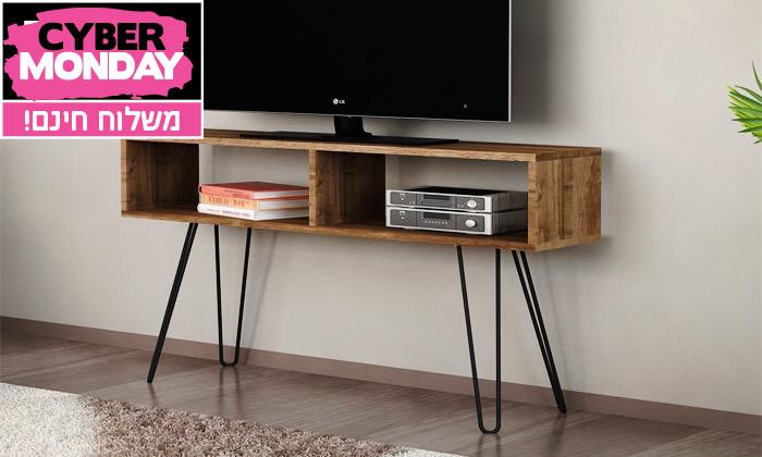 2 מזנון טלוויזיה דגם איילה - משלוח חינם