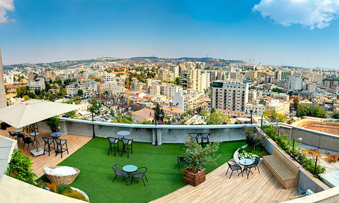 "6 My Jerusalem View - מלון בלב ירושלים, כולל סופ""ש"