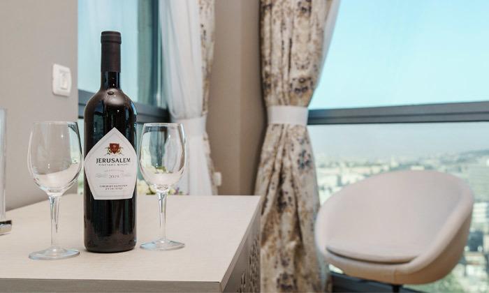 "6 My Jerusalem View - מלון בוטיק בלב ירושלים, כולל סופ""ש"