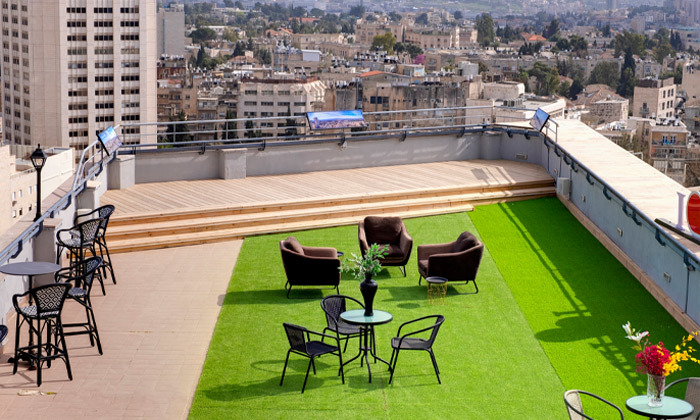 "9 My Jerusalem View - מלון בוטיק בלב ירושלים, כולל סופ""ש"