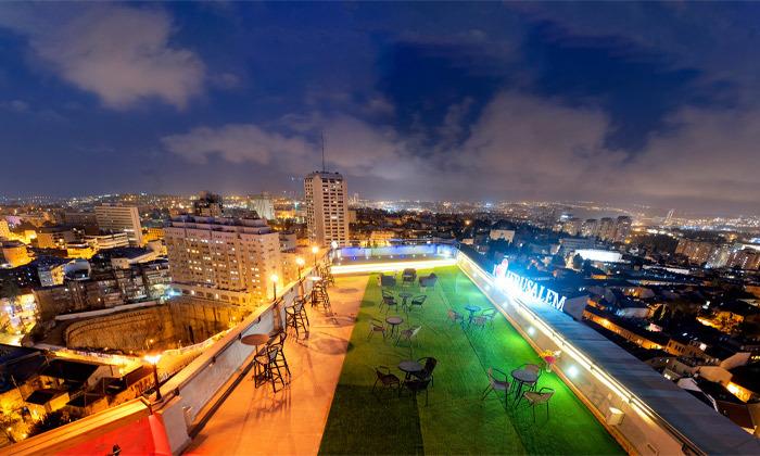 "10 My Jerusalem View - מלון בוטיק בלב ירושלים, כולל סופ""ש"