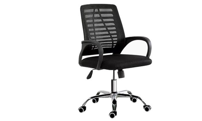 2 כיסא משרדי בעל מנגנון נדנוד