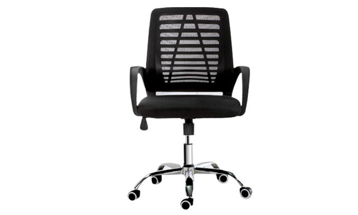 3 כיסא משרדי בעל מנגנון נדנוד