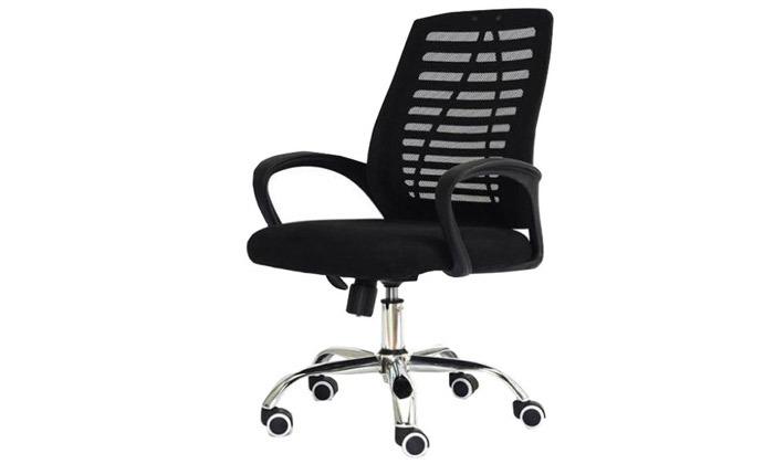 5 כיסא משרדי בעל מנגנון נדנוד