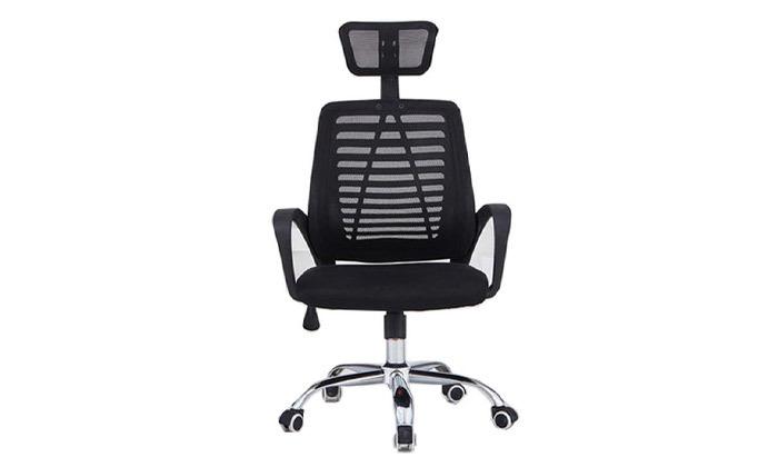 5 כיסא משרדי בעל משענת ראש