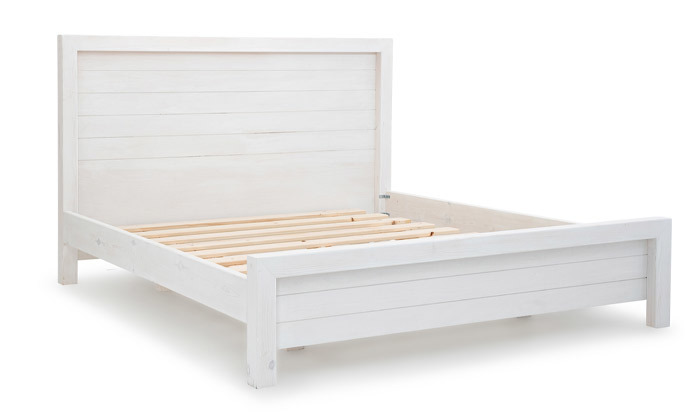 3 אולימפיה: מיטה מעץ מלא דגם 5034 כולל מזרן