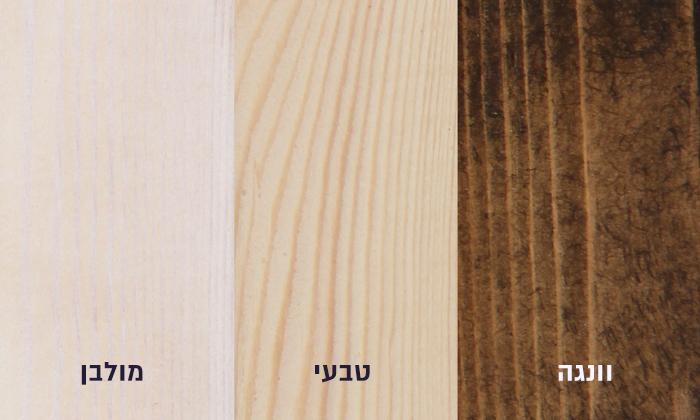 4 אולימפיה: מיטה מעץ מלא דגם 5034 כולל מזרן
