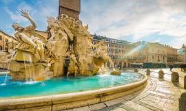סיור ברומא - סמטאות וכיכרות