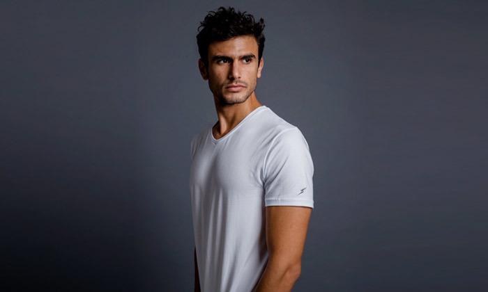 5 3 חולצות טי שירט לגברים Mr. Right