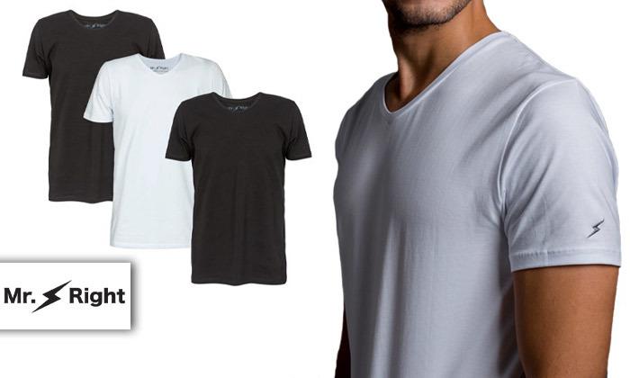 2 3 חולצות טי שירט לגברים Mr. Right