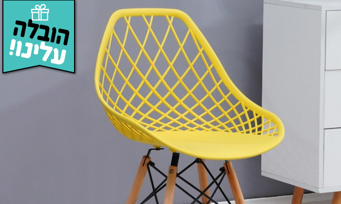 3 זוג כיסאותאוכל מעוצבים- משלוח חינם