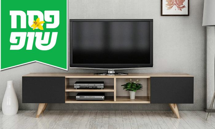 2 מזנון טלוויזיה TUDO DESIGN דגם Adel