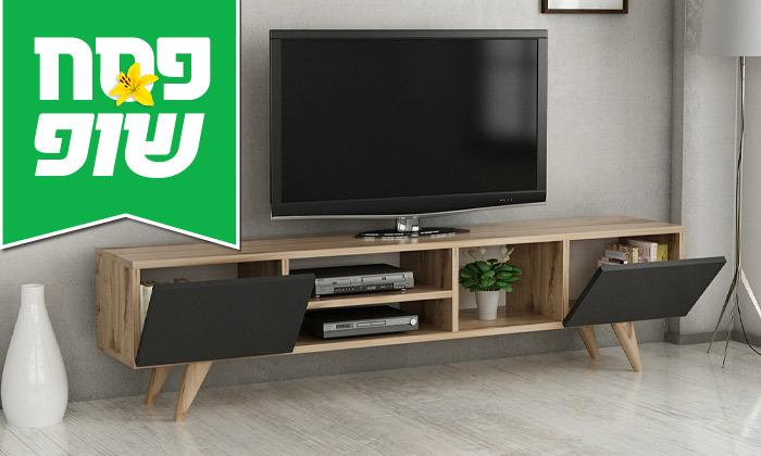 4 מזנון טלוויזיה TUDO DESIGN דגם Adel