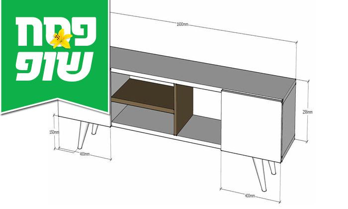 8 מזנון טלוויזיה TUDO DESIGN דגם Adel