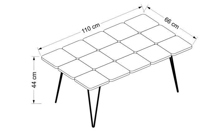 4 שולחן סלון TUDO DESIGN