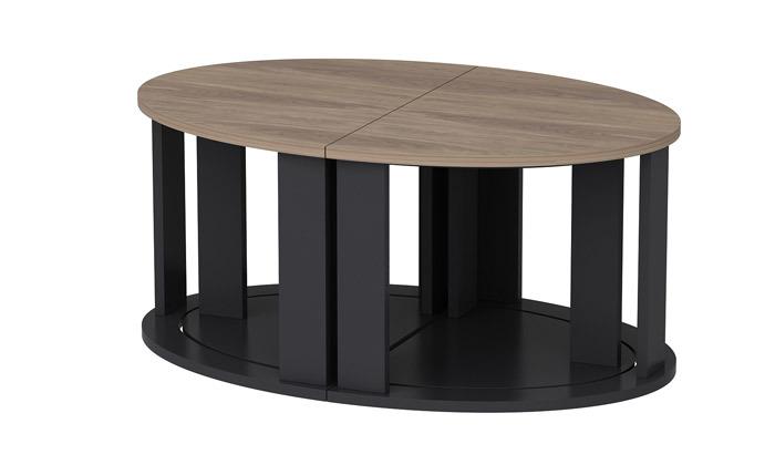 4 שולחן סלון אובלי TUDO DESIGN