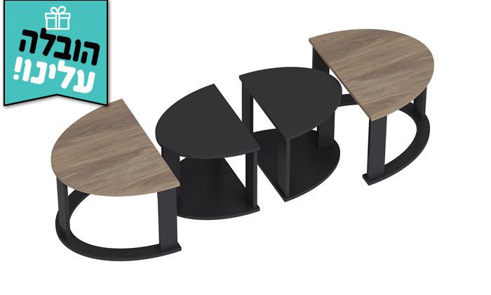 5 שולחן סלון אובלי TUDO DESIGN - משלוח חינם