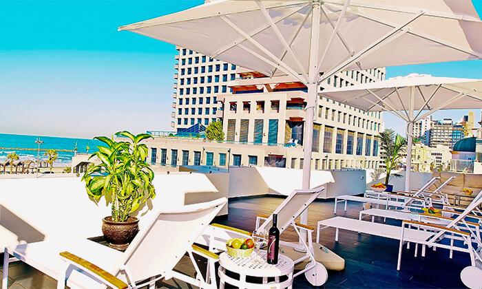 3 לילה במלון בוטיק Bell מול הים, כולל ארוחת בוקר