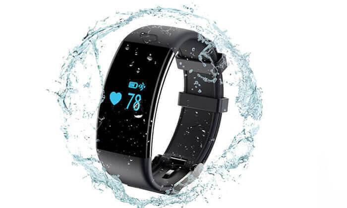2 שעון ספורט חכם עם אופציה לאוזניות בלוטוס