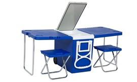 צידנית נפתחת לשולחן ו-2 כיסאות