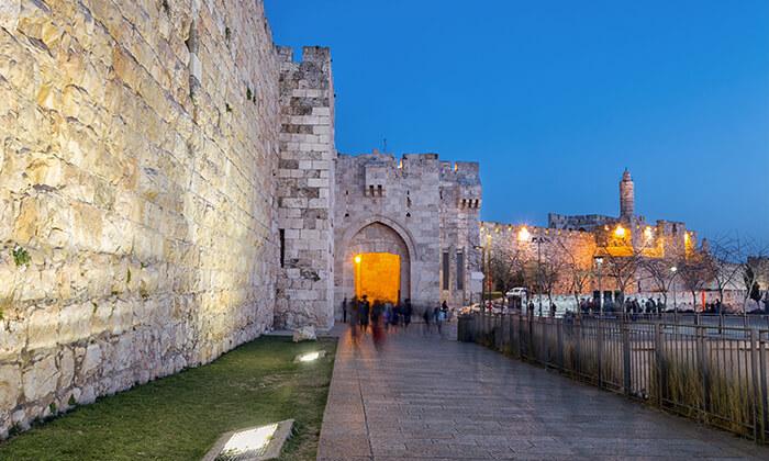 """2 חופשה אורבנית בירושלים, כולל סופ""""ש"""