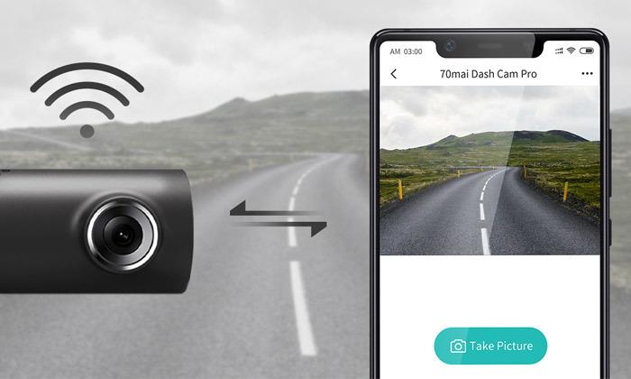 5 מצלמת דרך חכמה לרכב 70mai