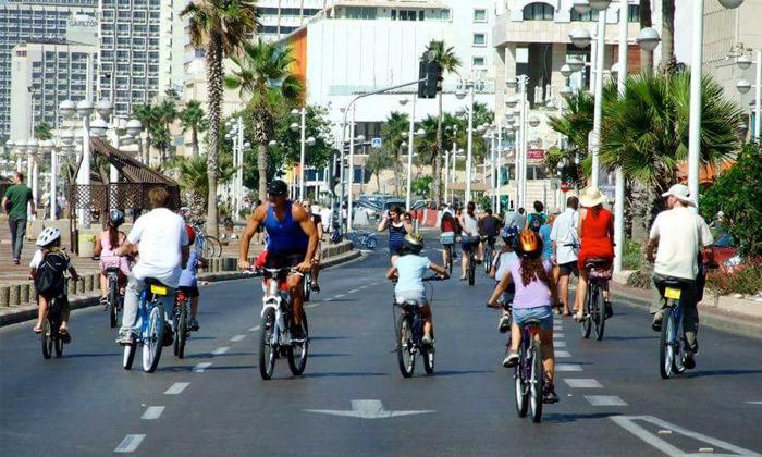 6 השכרת אופניים חשמליים ואופני עיר עם פול פוזישן, תל אביב