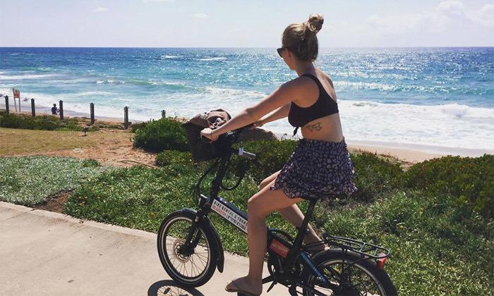 4 השכרת אופניים חשמליים ואופני עיר עם פול פוזישן, תל אביב