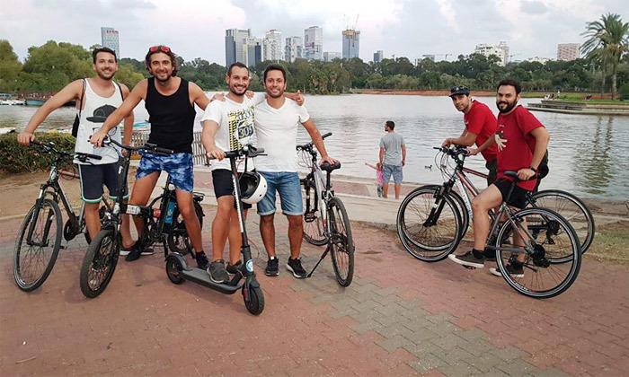 8 השכרת אופניים חשמליים ואופני עיר עם פול פוזישן, תל אביב