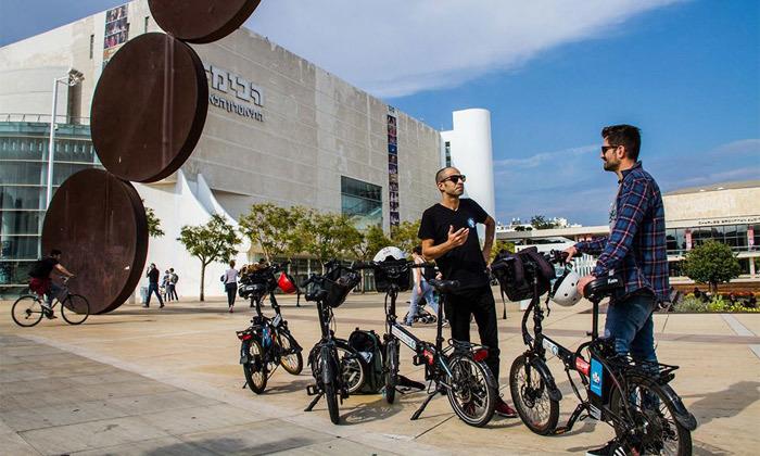 10 השכרת אופניים חשמליים ואופני עיר עם פול פוזישן, תל אביב