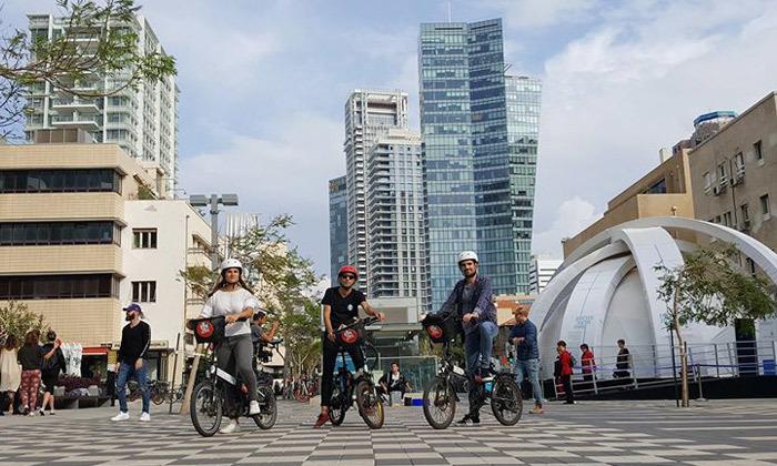 11 השכרת אופניים חשמליים ואופני עיר עם פול פוזישן, תל אביב