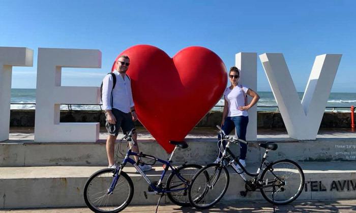 12 השכרת אופניים חשמליים ואופני עיר עם פול פוזישן, תל אביב