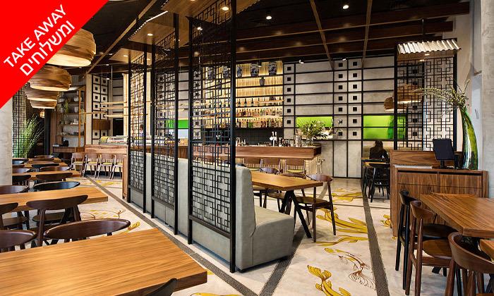 8 ארוחת סושי זוגית במסעדת זה סושי ZE SUSHI, רעננה