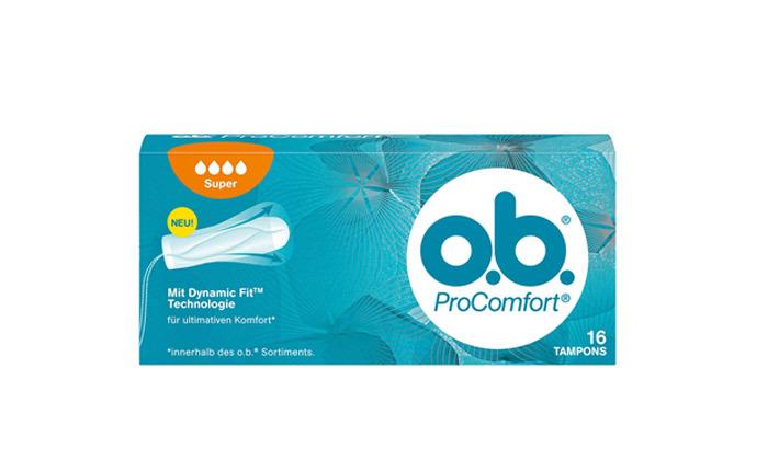 4 מארז 6 חבילות טמפוני או-בה o.b. ProComfort