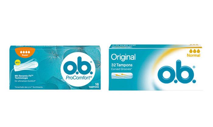 2 מארז 6 חבילות טמפוני או-בה o.b. ProComfort