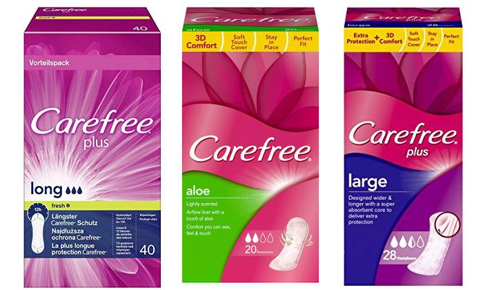 2 מארז 10 חבילות מגני תחתון Carefree