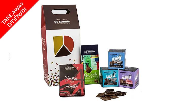 7 שובר הנחה מ-MilkBar תל אביב - שוקולד בוטיק, מארזים ומתנות ב-Take Away