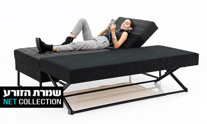 2 שמרת הזורע: מיטת נוער עם ארגז מצעים ומיטת חבר