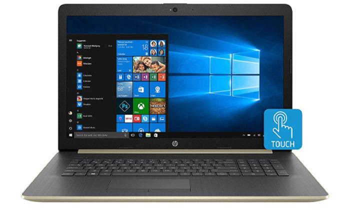 """4 מחשב נייד HP עם מסך מגע """"17.3 - משלוח חינם"""