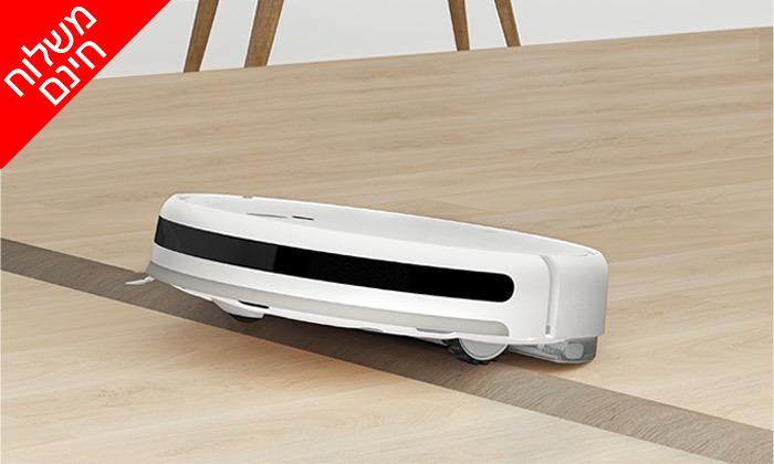 5 שואב אבק רובוטי שוטף שיאומי XIAOMI - משלוח חינם