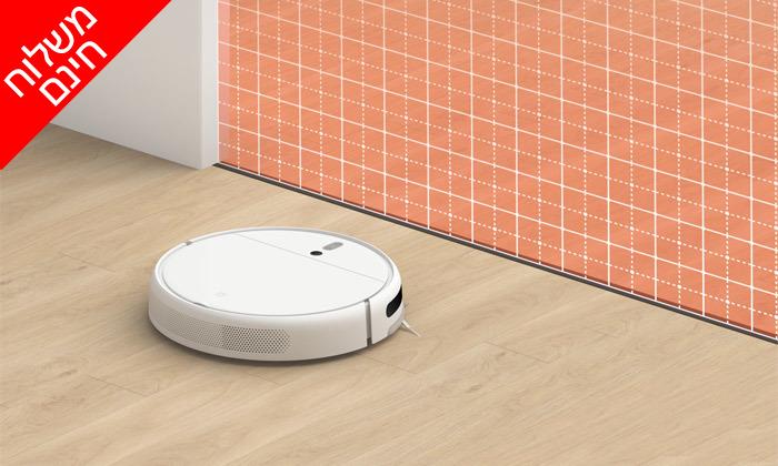 7 שואב אבק רובוטי שוטף שיאומי XIAOMI - משלוח חינם