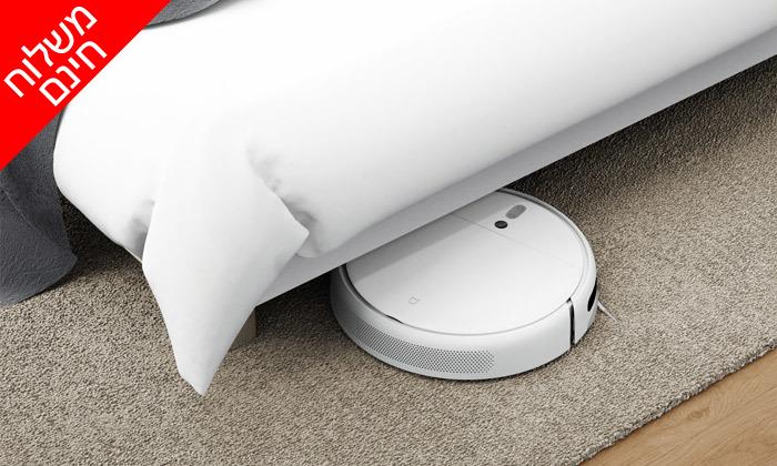 6 שואב אבק רובוטי שוטף שיאומי XIAOMI - משלוח חינם